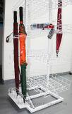 Supermarkt-Speicher-Fußboden-Typ Regenschirm-Bildschirmanzeige-Zahnstangen-entfernbarer Montage-Regenschirm-Standplatz