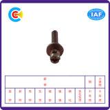 炭素鋼4.8/8.8/10.9電流を通されたPhillipまたはスロット平らなパッドの組合せの鉛ねじ