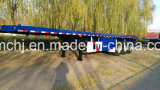 40FT Tri-Axle Recipiente Semi-Trailer Mesa& Reboque de Cargas