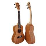 Aiersi Comercio al por mayor de 24 pulgadas de diseño de Gecko Ukulele instrumento guitarra de viaje