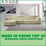 Conjunto de cuero seccional del sofá de los muebles caseros modernos de la sala de estar