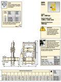 При нажатии Roll-Frame Bpr-Series (Bpr-5075) Оригинальный Enerpac