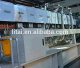 Cadena de producción de la hoja del animal doméstico máquina de la protuberancia de la hoja del animal doméstico