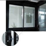 Коммерчески сползая окно/алюминиевое двойное застекленное Windows и двери