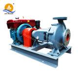 Bomba de água de irrigação de grande diâmetro com motor diesel