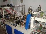 [ت-شيرت] آليّة بلاستيكيّة يثقب حقيبة [شوبّينغ بغ] على لف يجعل آلة ([دووبل لر])