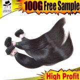 Дешевые малайзийские волосы 4 пачки, волосы малайзийца 8A