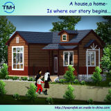 Prefab конструкция дома виллы на надувательстве