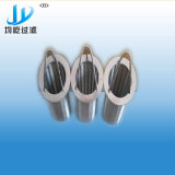 Tubo de agua de mar de acero inoxidable filtro cesta