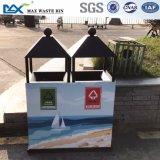Max-HK114 раздатчик ящик общественного отброса таблицы расцветки Индонесии/неныжных ящиков рециркулируя