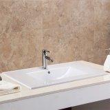 Loiça sanitária 80cm da borda fina retangular pia vaidade para casa de banho