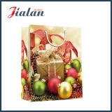 Bolsa de papel impresa 4c del embalaje del regalo de Belces de la Navidad de la aduana que hace compras