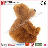 Jouet mou de peluche d'ours de nounours de caresse de peluche pour des gosses/enfants