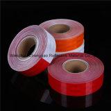 Rojo sólido material reflectante autoadhesivo