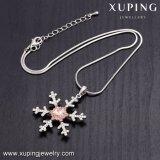 Necklace-00513 Xuping Schneeflocke-Kristalle von Swarovski personifizierten konzipierte Halskette