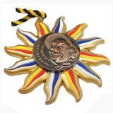 De aangepaste Medaille van de Concurrentie van het Email van het Metaal Zachte Zingende