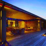 クリスマスのためのロマンチックなRGBの移動星のホタルの庭のレーザー光線