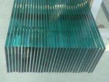 Le verre trempé clair (clair/ultra plat clair, courbe/, la couleur imprimée)