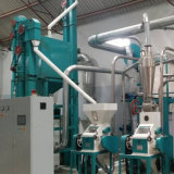 Planta de trituração do milho da máquina da fábrica de moagem do moinho do milho de Malawi