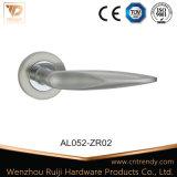 La quincaillerie de porte de la poignée en aluminium porte de la salle de blanchisserie Poignée de levier SET (AL046-ZR11)