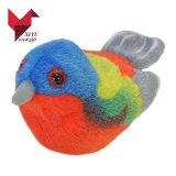 Jouet mou d'oiseau mignon coloré