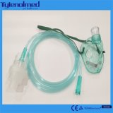 Медиальная маска Nebulizer PVC с набором Aeresol для использования стационара
