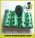 2018 Eco friendly Pet bolsas de residuos biodegradables la bolsa de mierda de perro