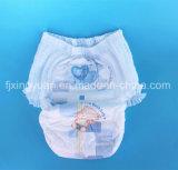 Dorloter de la formation de couches jetables pantalons