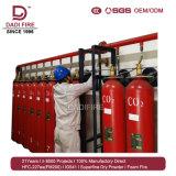 Sistema di soppressione automatico del fuoco del CO2 estinguente competitivo del cilindro