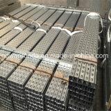 Manica Unistrut scanalata a forma di C galvanizzata fornitore dell'acciaio della Cina
