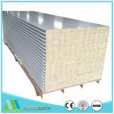 El panel de emparedado incombustible de las lanas de roca del aislante para la pared y el material para techos