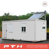 Modulaire 20 van het Geprefabriceerde Voeten Huis van de Container voor Slaapzaal, Enige Afdeling