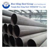 La ronda del tubo de la estructura de tubo de acero soldado REG