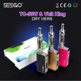 China die de KruidenKoning van Seego Vhit van de Verstuiver roken & tc-50W de Elektronische Uitrusting van Mod. van de Sigaret