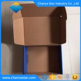Custom reciclar papel ondulado Kraft Caixa de transporte para roupas