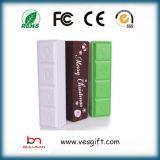 Llavero de perfume de promoción de los bancos de potencia adicional USB cargador portátil