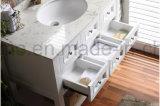 防水白い純木現代様式の浴室の家具(ACS1-W76)