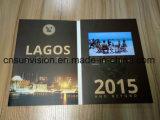 Пользовательское видео печати брошюра приветствие приглашение карты
