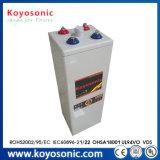 prix d'usine VRLA 2V 1500ah Opzs Solar Power Battery avec plaque tubulaire