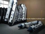 Bateaux gonflables de bateau de sauvetage de Liya 3.6-6.5m avec le canot en caoutchouc de moteur