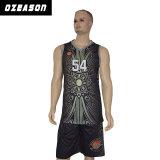 China-Hersteller fertigen Sublimation-Basketball Jersey kundenspezifisch an (BK001)
