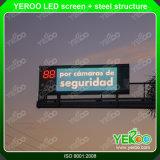 Rectángulo ligero de la publicidad de pantalla del LED