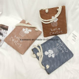 연약한 PU 쇼핑 백 바느질 여자 끈달린 가방 (TTE-011)