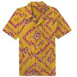 La mode de tissus d'impression de cire de la chemise des hommes africains faits sur commande conçoit des chemises de Dashiki de configuration