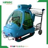 Boodschappenwagentje van het Stuk speelgoed van de Kinderen van de supermarkt het Plastic Rentable voor Baby