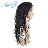 최고 급료 Virgin 머리 자연적인 파 130% 조밀도 가득 차있는 레이스 가발
