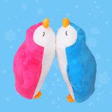 Cuscino animale della peluche del pinguino