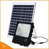 リモート・コントロールの高い明るさ50With100Wの太陽LEDによって動力を与えられる洪水ライト