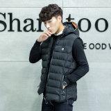 Shishi Invierno Ropa de poliéster Camiseta sin mangas de peso ligero Puffer chaleco para los hombres y mujeres