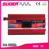 Invertitore modificato 230V di potere di onda di seno di Suoer 1000W 12V (SAA-D1000A)